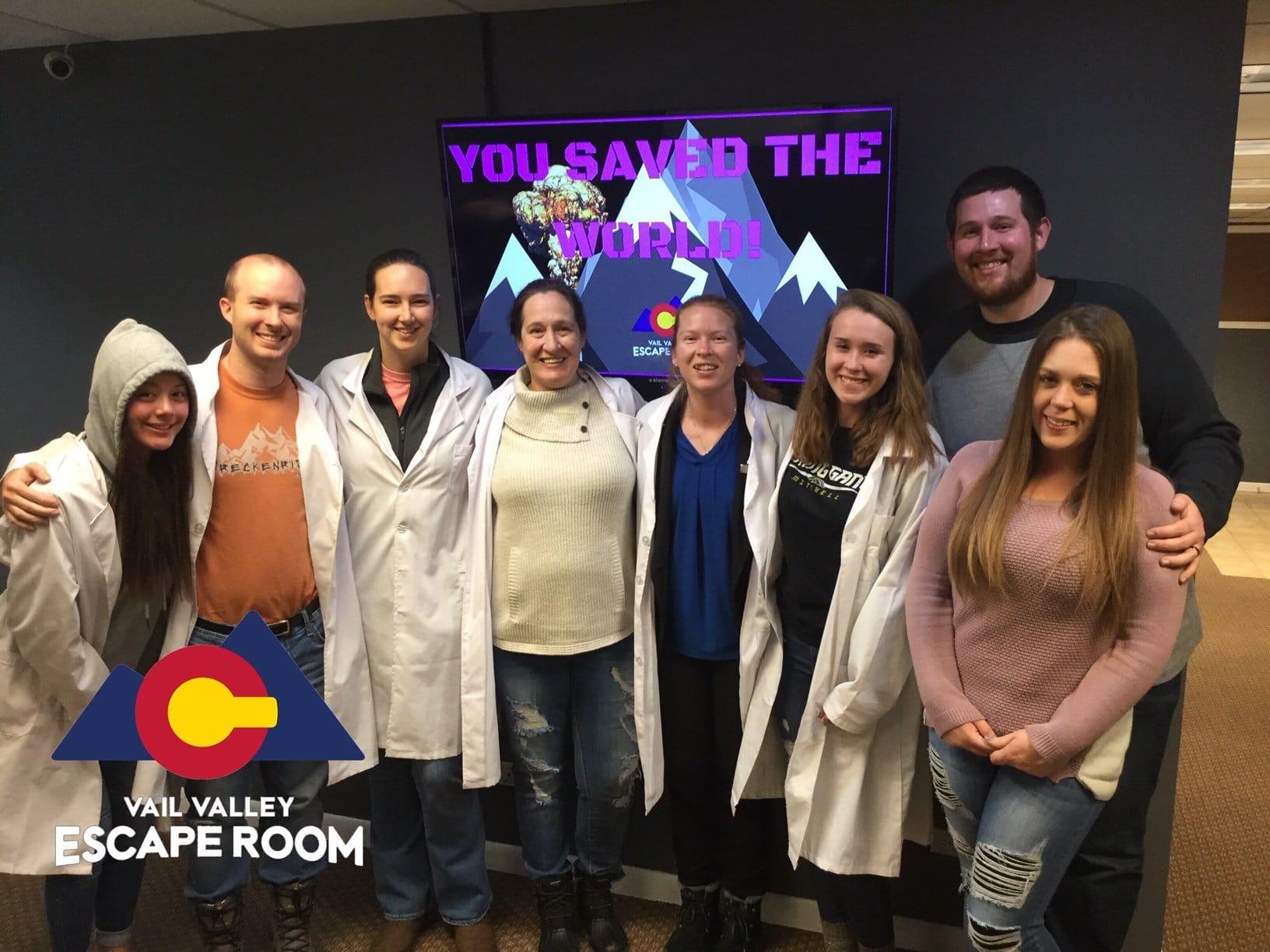 Escape Room Team Family