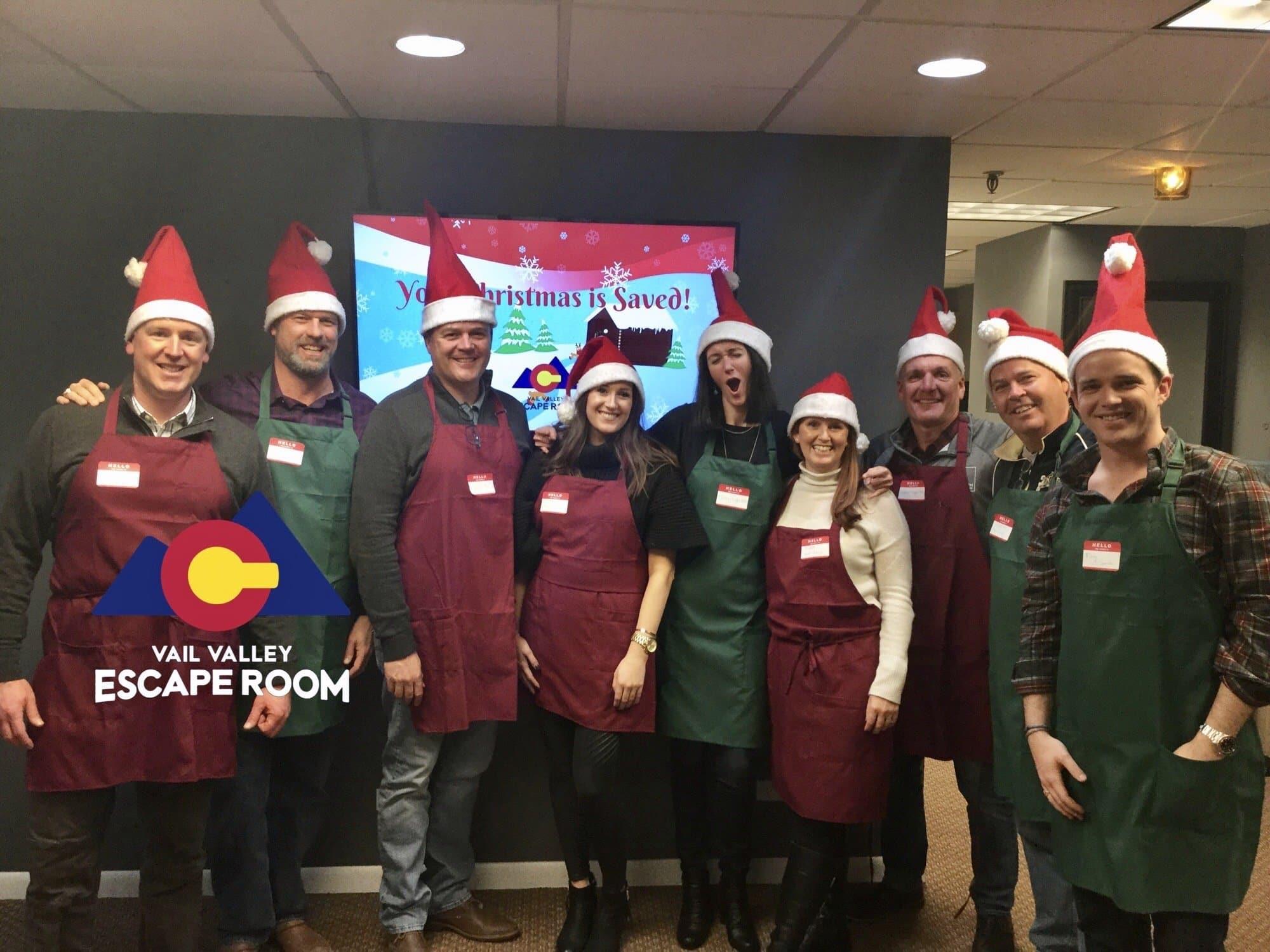 Escape Room Christmas Team